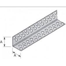 Угол перфорированный алюминиевый 25х25 3м