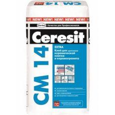 Ceresit CM 14 клей быстротвердеющий для плитки, 25кг