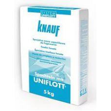 Шпаклевка гипсовая высокопрочная Кнауф Унифлот (5кг)