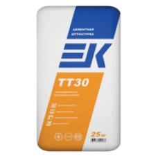 Цементная штукатурка ЕК ТТ 30 - 25 кг (для фасадов)